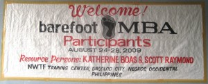 Philippines welcome banner