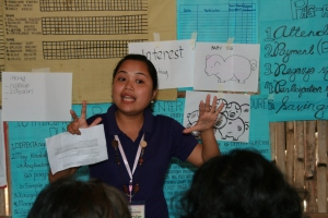 Teaching the Barefoot MBA to villagers